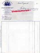 16 - JARNAC COGNAC - FACTURE  JULES DURET - ASSOCIATION VITICOLE DU COGNAC- - France
