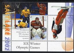 BELARUS 2002 Winter Olympic Games Block MNH / **.  Michel Block 27 - Belarus