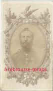 CDV  Militaire époque Second Empire-médaille-photographe Anonyme - Guerre, Militaire