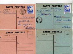 TB 2177 -  CPA -  4 Cartes Postales De La Poste Enfantine - Post