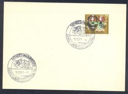 Germany Deutschland 1962 Card: Winter Sport; Alpine Skiing; Gefrees über Bayreuth Wintersportplatz