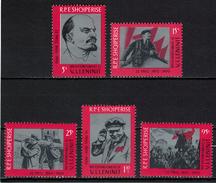 Albania 1970 _ The 100th Anniversary Of The Birth Of Lenin - Full Serie MNH** - Albania