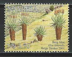 Namibia Mi 1055 ** MNH Aloe Littoralis