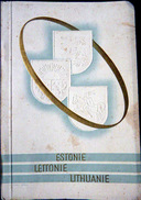 LETTONIE ESTONIE LITHANIE PAYS BALTES GUIDE DE VOYAGE DES PAYS BALTES VERS 1930PLUS DE 30 PAGES PHOTOS - Dépliants Touristiques