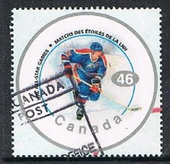 CANADA 1701103 - 2000 46c NHL Hockey All Stars Used Sheet Single