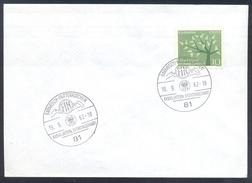 Germany Deutschland 1962 Cover: International 6 Tage Fahrt; FIM Garmisch Pertenkirchen; Adler Eagle Aigle Cancellation
