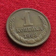 Russia USSR 1 Kopek 1968 Y# 126a Urss Russie Sowjetunion - Rusland
