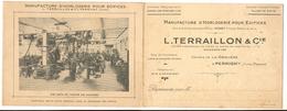 PERRIGNY---USINE DE LA GRAVIERE-L-TERRAILLON--HORLOGER - Lons Le Saunier