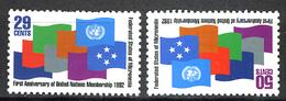 1992 - MICRONESIA -  Catg.. Mi. 262/263 -  NH - (I-SRA3207.28) - Micronesia