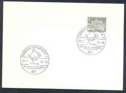 Germany Deutschland 1964 Card: Ice Hockey; Speed Skating Figure Skating; Eröffnung Des Neuen Eisstadions Garmisch Parten