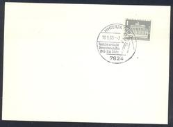Germany Deutschland 1965 Card: Cross Country Skiing; Langlauf; Deutsche Nordische Ski Meisterschften Hinterzarten
