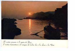 S2687 Cartolina Con Citazione Religiosa + Tramonto Sunset Coucher - Citation, Citizen _ NON CIRCOLATA - Filosofia & Pensatori