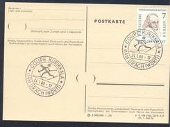 Germany Deutschland 1960 Card: Cross Country Skiing; Cup Kurikkala Langlauf (Coupe Kurikkala)