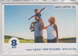 ISRAEL 2017 NEW TELECARD 20 UNITS - Israel
