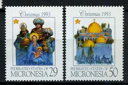 1993 - MICRONESIA -  Catg.. Mi. 317/318 -  NH - (I-SRA3207.28) - Micronesia