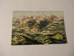 Panoramakarte - Appenzell Und Alpstein (520) - Schweiz