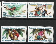 1994 - MICRONESIA -  Catg.. Mi. 352/355 -  NH - (I-SRA3207.29) - Micronesia