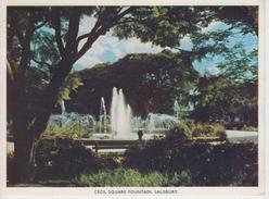 CPSM Salisbury (Hararé) - Cecil Square Fountain - Zimbabwe