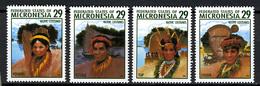 1994 - MICRONESIA -  Catg.. Mi. 356/359 -  NH - (I-SRA3207.28) - Micronesia