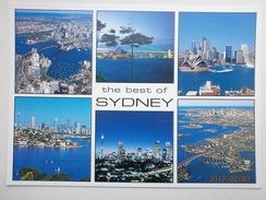 Postcard The Best Of Sydney Australia Multiview My Ref B2364 - Sydney