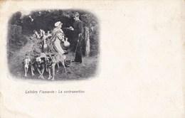 Laitière Flamande, La Contravention, Attelage Chiens,  (pk33613) - Marchands Ambulants