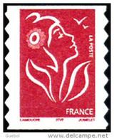 France Marianne De Lamouche N° 3744 ** Ou 49 Autoadhésif - Le TVP Rouge -> ITFV