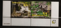 Bosnie Herzégovine Bosnia 2009 N° 225 / 6 ** Nature, Eau, Moulin, Chutes D'eau, Lac Pliva, Pêche, Danube, Jajce, Cascade - Bosnien-Herzegowina