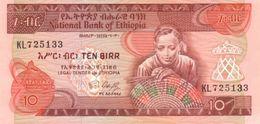 ETHIOPIA P. 43a 10 B 1991 UNC - Ethiopie