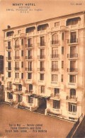 06 - NICE - CAFES HOTELS RESTAURANTS : MONTY Hotel  - 129 Bis Promenade Des Anglais - CPA - Alpes Maritimes - Cafés, Hotels, Restaurants