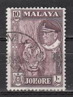 Malaisie -  Johore - 137 Obl. - Johore