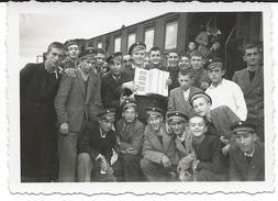 Train,Railway Station Stip,Macedonia 1941.small Photo - Trains