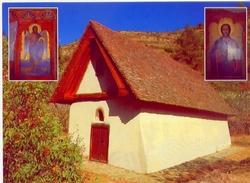 Cyprus - Church Of Archangelos Michael Galata Village 1514 - Formato Grande Non Viaggiata - E - Cipro