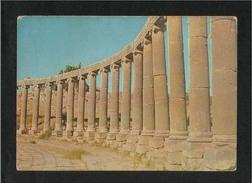 Jordan Old Picture Postcard Pillars Of Jerash  View Card