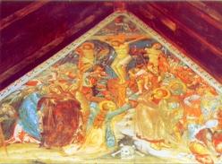 Cyprus - The Crusifixion Church Of Panayia Podithou Galata Village - Early 16th Century - Formato Grande Non Viaggiata - - Cipro