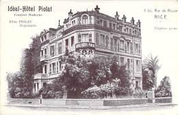 06 - NICE - CAFES HOTELS RESTAURANTS :  IDEAL HOTEL PIOLAT - 5 Bis Rue De Russie - CPA -  Alpes Maritimes - Pubs, Hotels And Restaurants