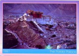 Nepal - Tibet - The Potala Palace - Formato Grande Viaggiata - E - Nepal