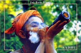 Jai Bom Bhole - Sadhu - Nepal - Formato Grande Viaggiata - E - Nepal