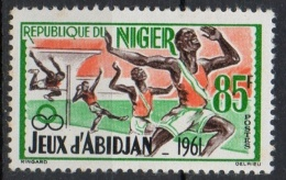 Niger 1962 -  Salto In Alto Lancio Del Peso Sport High Jump Shot Put MNH ** - Níger (1960-...)