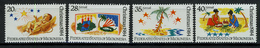 1984 - MICRONESIA -  Catg.. Mi. 28/31 -  NH - (I-SRA3207.31) - Micronesia