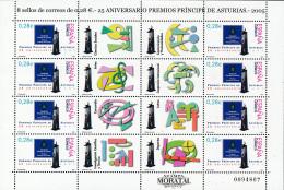 2005 - Espagne Yv#   Ed# 4192 MP 86  ** Neuf Sans Charnière TTB Très Beau. MP 25 Aniv. PPE Awards. Asturias - 1931-Aujourd'hui: II. République - ....Juan Carlos I