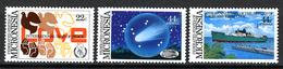 1985 - MICRONESIA -  Catg.. Mi. 50/52 -  NH - (I-SRA3207.31) - Micronesia