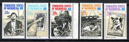 1986 - MICRONESIA -  Catg.. Mi. 57/61 -  NH - (I-SRA3207.31) - Micronesia