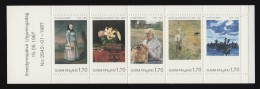 FNLAND - Scott #758 Natl. Art Museum / Mint Booklet Stamps (bk989)
