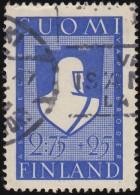 FINLAND - Scott #B48 Soldier's Emblem / Used Stamp