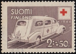 FINLAND - Scott #B61 Ambulance / Used Stamp