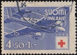 FINLAND - Scott #B63 Hospital Plane / Used Stamp