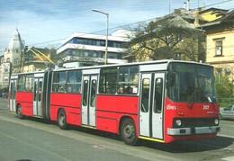 BUS * AUTOBUS * TROLLEY * TROLLEYBUS * IKARUS 280T * BKV * DOZSA GYORGY STREET * BUDAPEST * Top Card 0894 * Hungary - Bus & Autocars