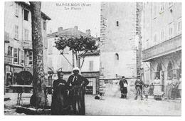 83 - REPRODUCTION : BARGEMON (Var) - La Place - Bargemon