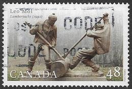 Canada SG2154 2002 Sculptures 48c Good/fine Used [13/13372/4D]
