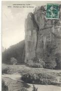 2751. LES GORGES DU TARN . ROCHERS AUX BAUMES-BASSES . ECRITE AU VERSO AFFR SUR RECTO LE 3 DEC 1911 - Gorges Du Tarn